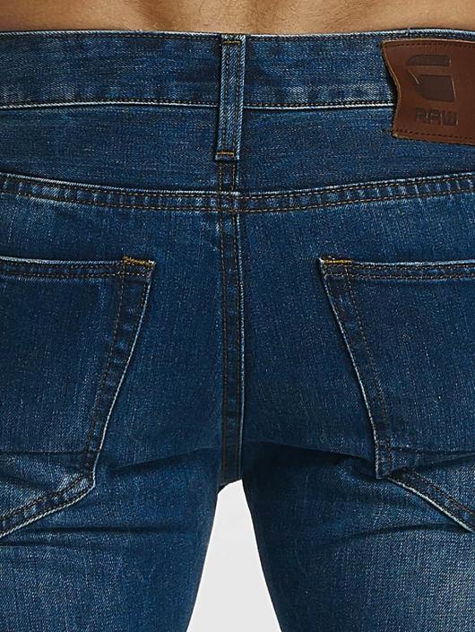 G-Star dżinsy przylegające Slim Fit niebieski