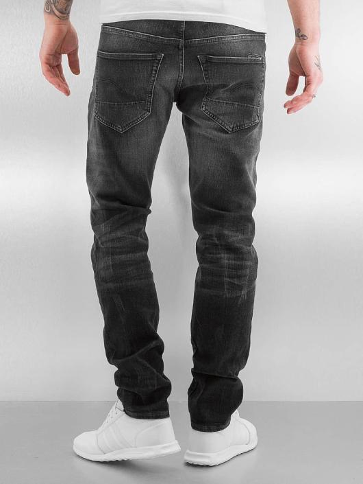 G-Star Jean carotte antifit 3301 Tapered Slader Bionic Black noir