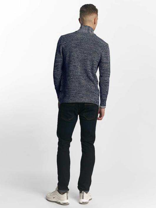 G-Star Jumper Dadin Shawl Collar blue