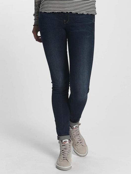 G-Star Skinny Jeans Midge Zip blau
