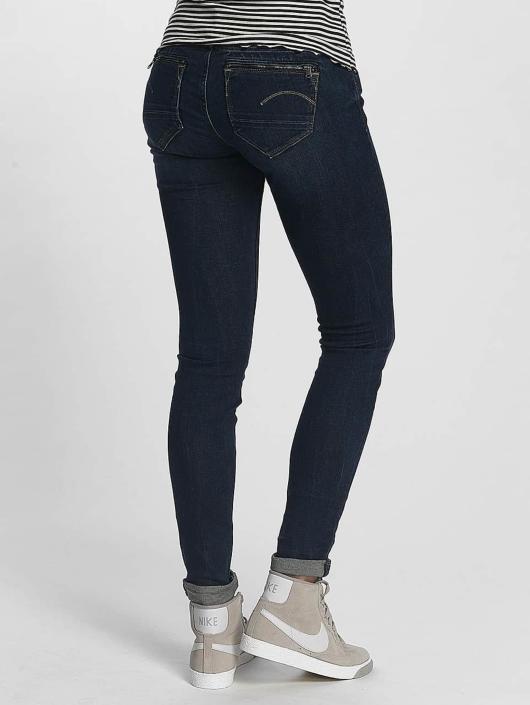 G-Star Skinny Jeans Midge Zip blue