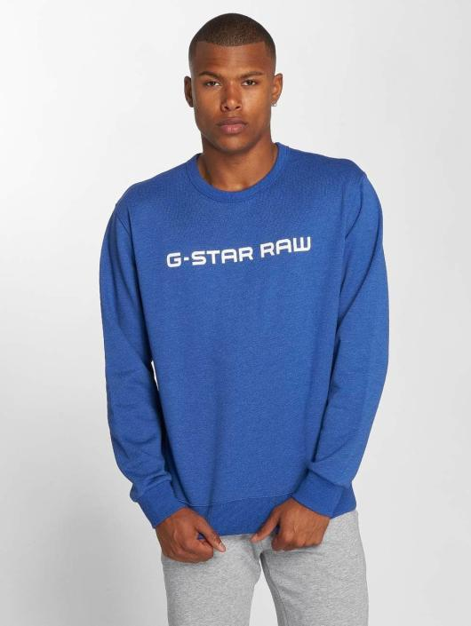 G-Star Sweat & Pull Loaq Heavy Sherland bleu