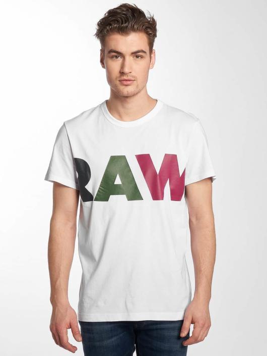G-Star T-Shirt Noct Compact blanc