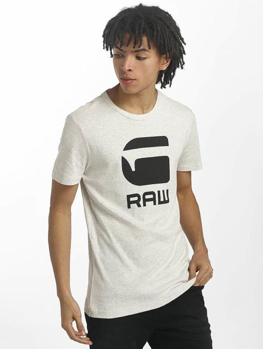 G-Star T-Shirt Drillon Cool Rib blanc