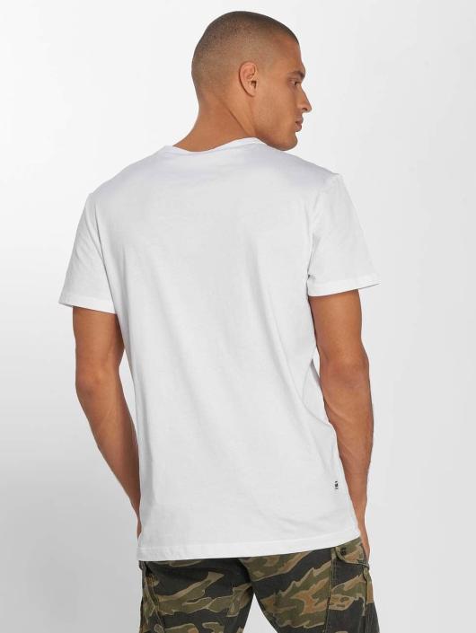 G-Star T-Shirt Tahire blanc