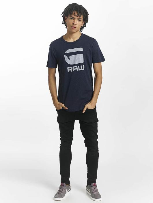 G-Star T-Shirt Drillon Cool Rib bleu