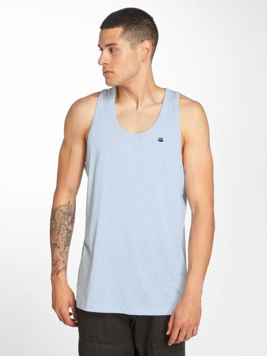ziemlich cool attraktive Mode Premium-Auswahl G-Star Belfurr NY Jersey Loose R Tanktop Laundry Blue Heather