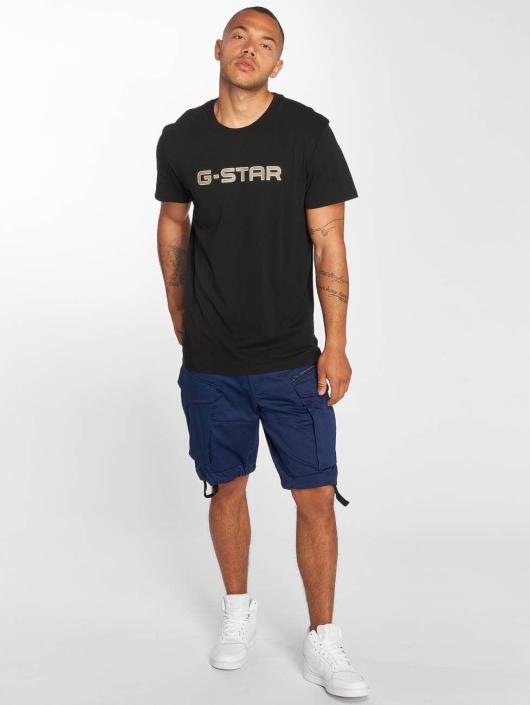 G-Star Tričká Geston èierna