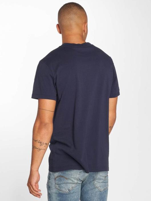 G-Star Tričká Geston modrá