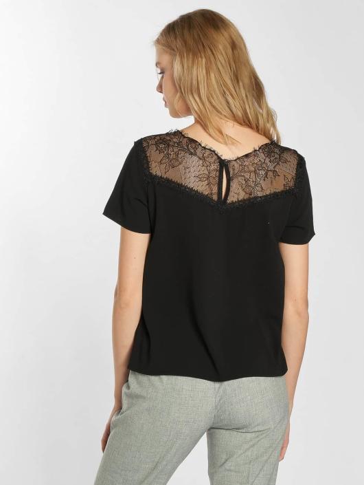 Grace & Mila T-Shirt Peluche noir