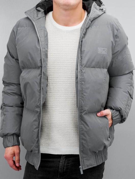 Grimey Wear Стеганая куртка Fire Eater серый