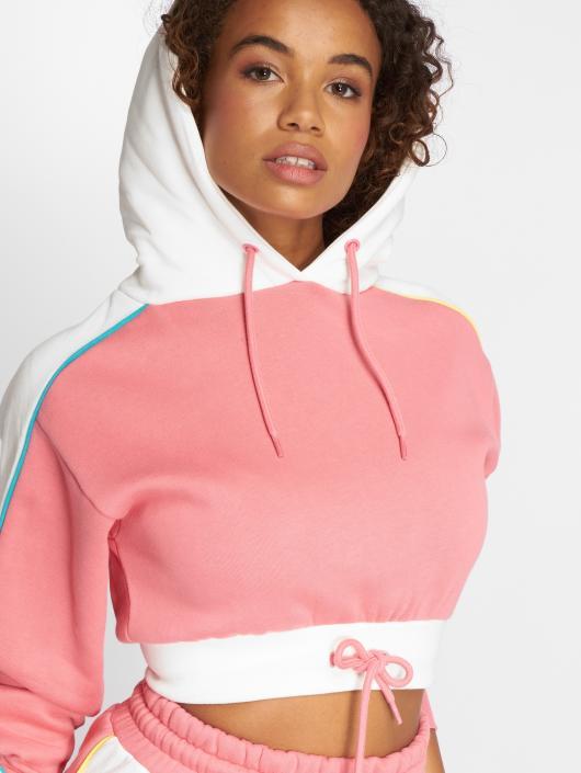 Grimey Wear Felpa con cappuccio Hazy Sun rosa