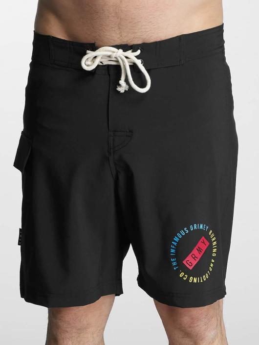Grimey Wear Kúpacie šortky Stick Up èierna