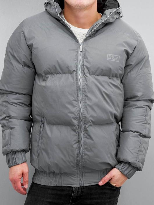 Grimey Wear Puffer Jacket Fire Eater grey
