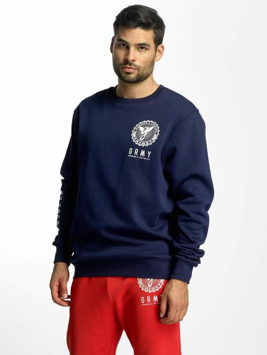 Grimey Wear Pullover Core blau