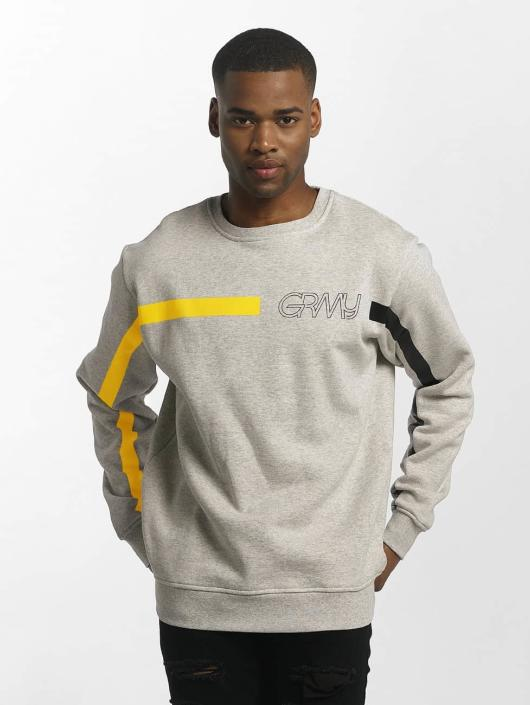 Grimey Wear   Mangusta V8 gris Homme Sweat   Pull 414207 8857a12fd77f