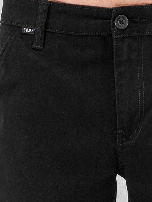 Grimey Wear Sweat Pant Twill Peach black