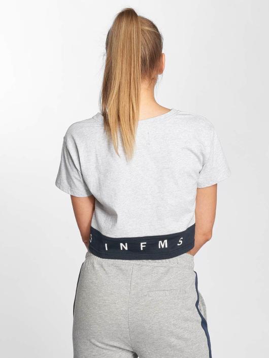 Grimey Wear T-Shirt Ashe gris