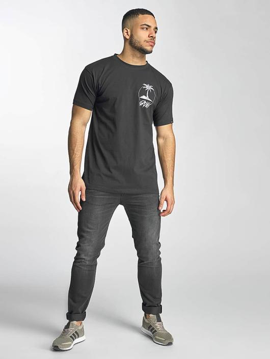 Grimey Wear Tričká Pina Colada èierna