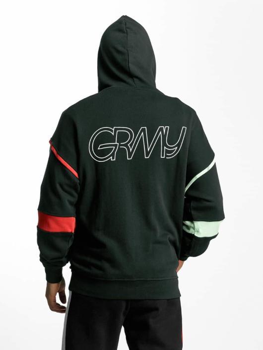 Grimey Wear Zip Hoodie Half Court Line grün