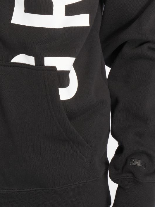 Grimey Wear Zip Hoodie Heritage Infamous schwarz