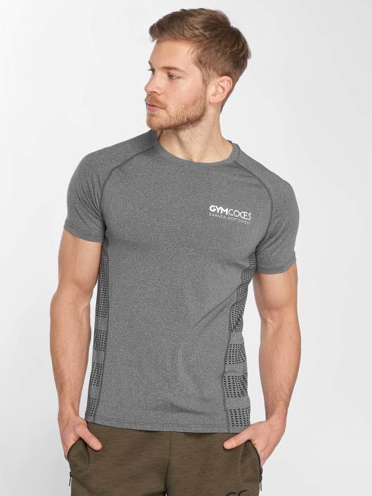 GymCodes T-paidat Performance harmaa