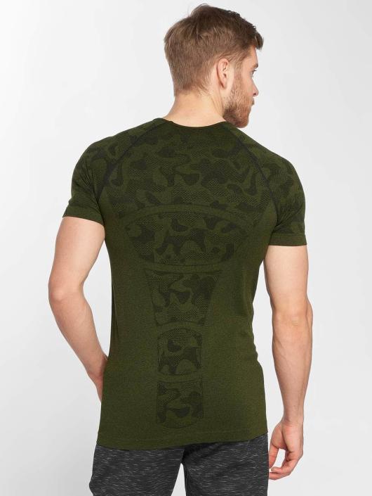 GymCodes Urheilu T-paidat Performance camouflage