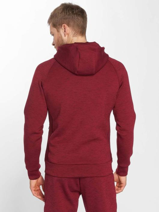 GymCodes Zip Hoodie Athletic-Fit czerwony