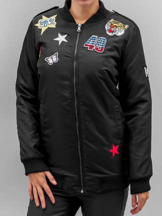 Hailys Bomber jacket Romy Pop black