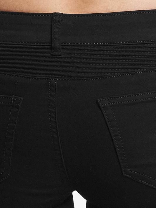 Hailys Jean skinny Kina Biker noir