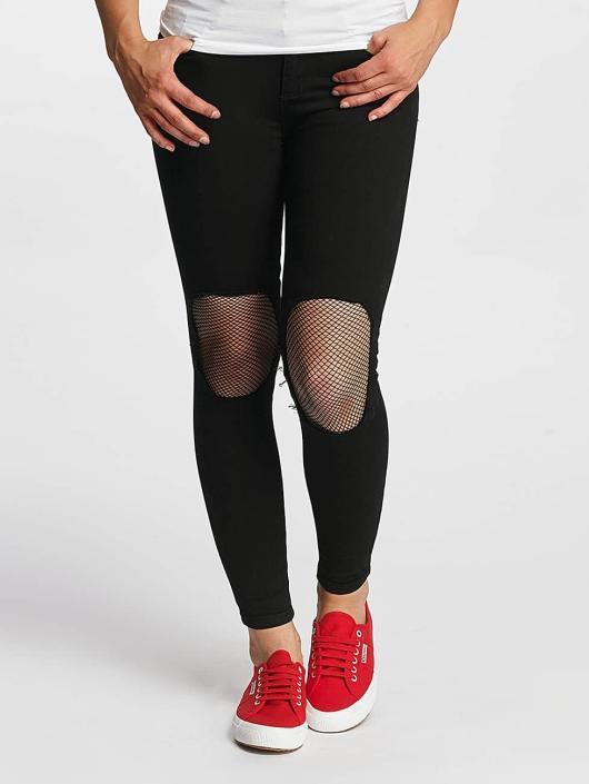 Hailys Jeans slim fit Netty nero