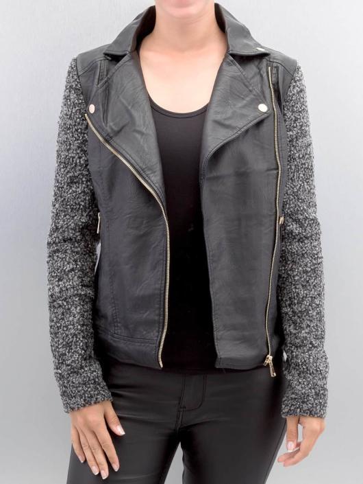Hailys Leather Jacket Ceclilia Pop black