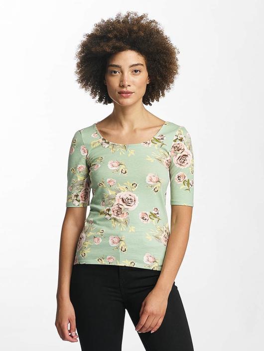 Hailys Longsleeves Rachel Flower zelený