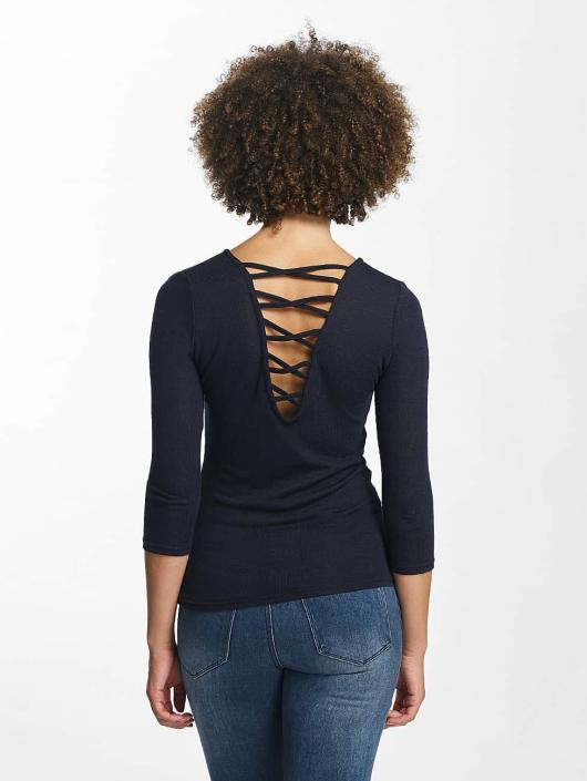 Hailys Pullover Jenny 3/4 Lace-Up blue