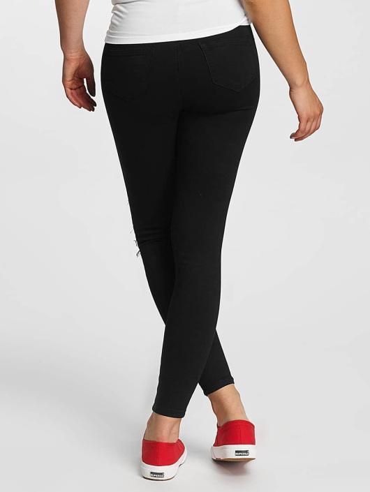 Hailys Skinny Jeans Netty czarny