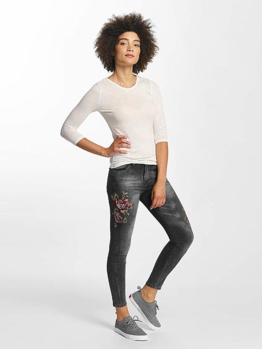 Hailys Skinny jeans Sari Roses zwart