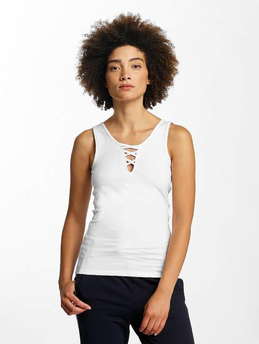 Hailys Top Ann Lace-Up blanco