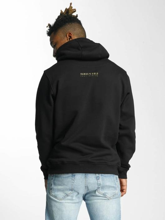 Hands of Gold Hoodie Game On black