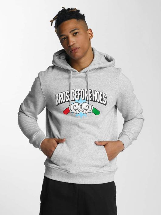 Hands of Gold Hoodie Bros Before Hoes gray