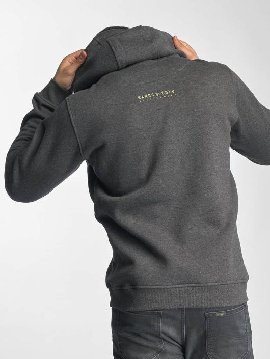 Hands of Gold Hoody All Day grau