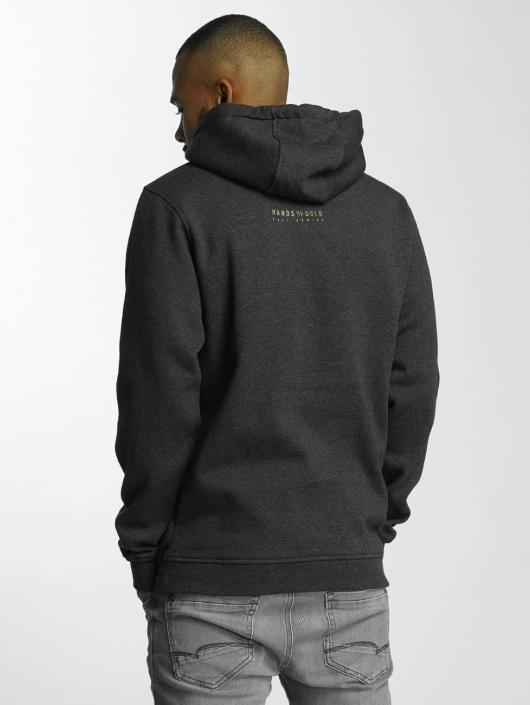 Hands of Gold Hoody Oldschool grau