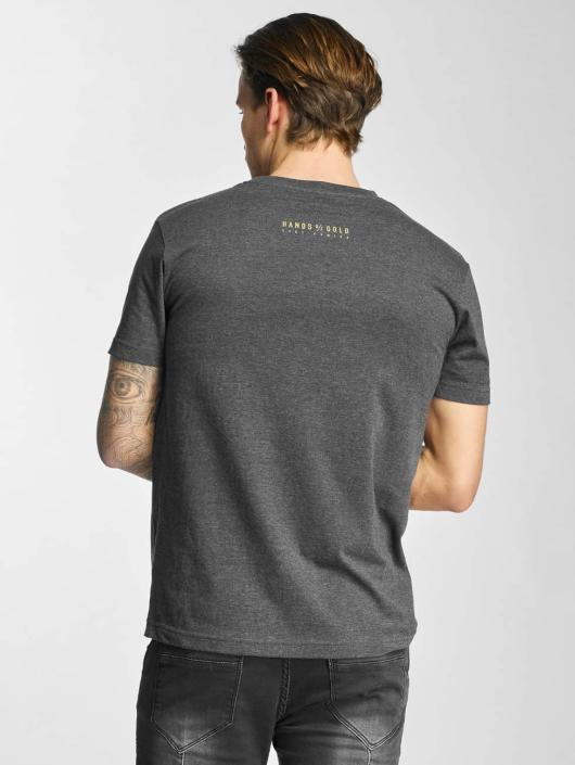Hands of Gold T-Shirt Game On gray
