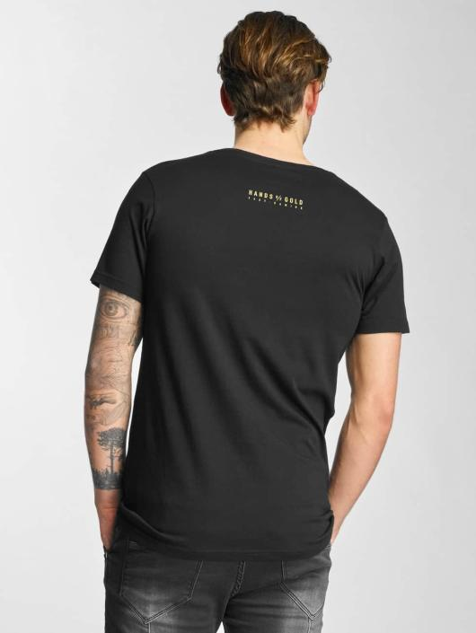 Hands of Gold T-Shirt Bros Before Hoes schwarz