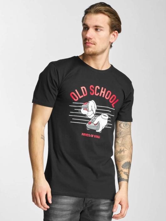 Hands of Gold T-skjorter Oldschool svart
