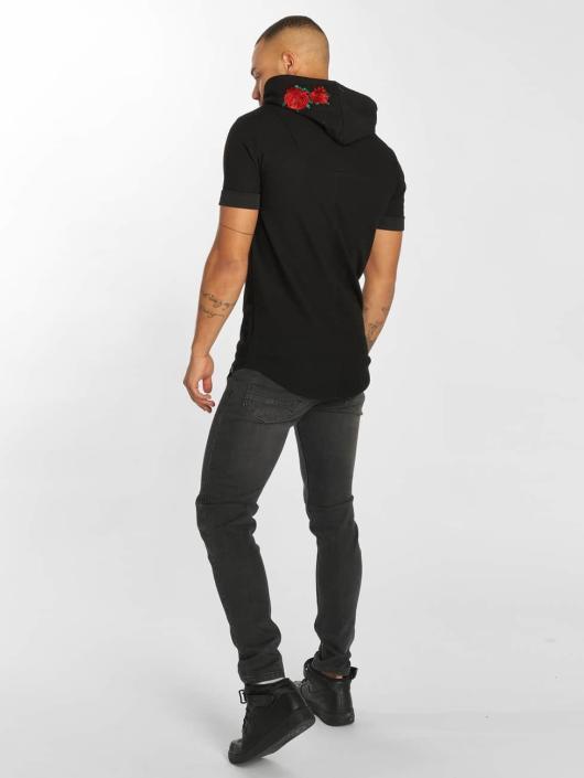 Hechbone T-Shirt Roses black