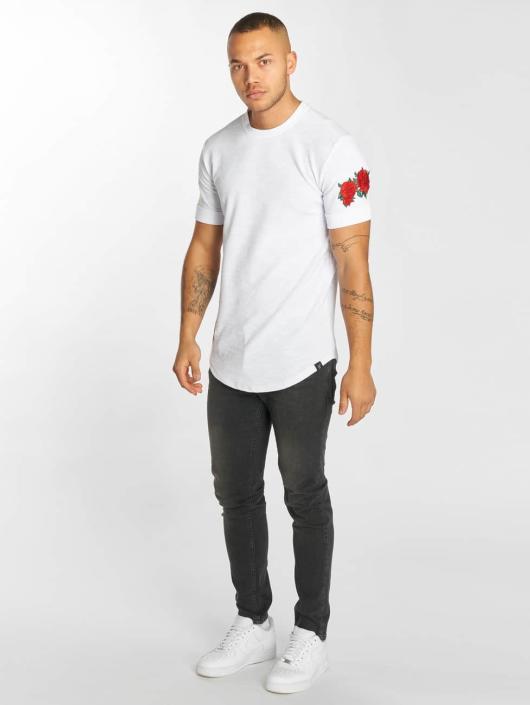 Hechbone T-Shirt Roses blanc