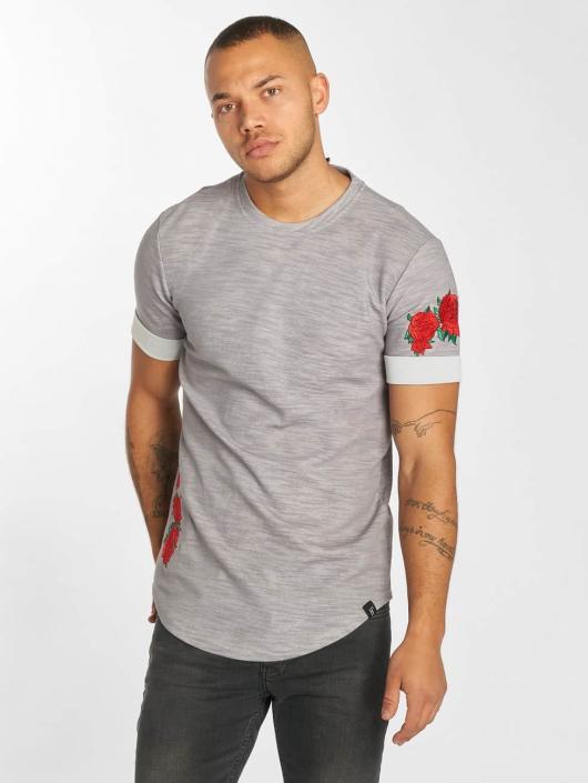 Hechbone T-Shirt Roses gray