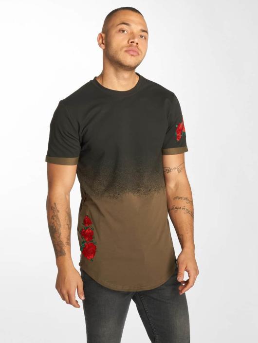 Hechbone T-Shirt Roses khaki