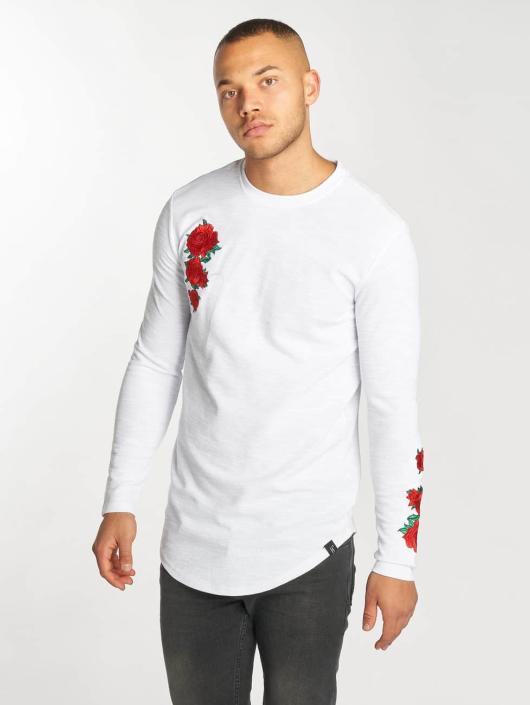 Hechbone T-Shirt manches longues Roses blanc
