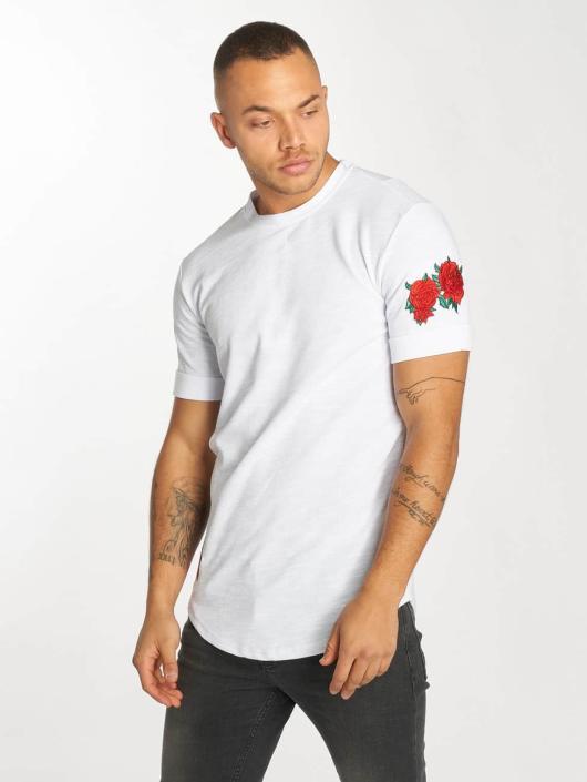 Hechbone T-Shirt Roses white